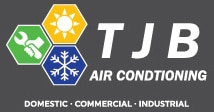TJB Air Conditioning Logo